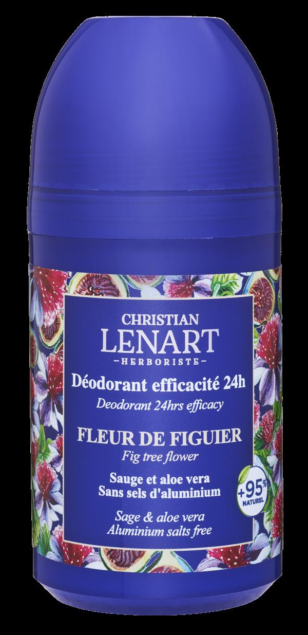 Déodorant efficacité 24h Fleur de figuier Christian Lénart