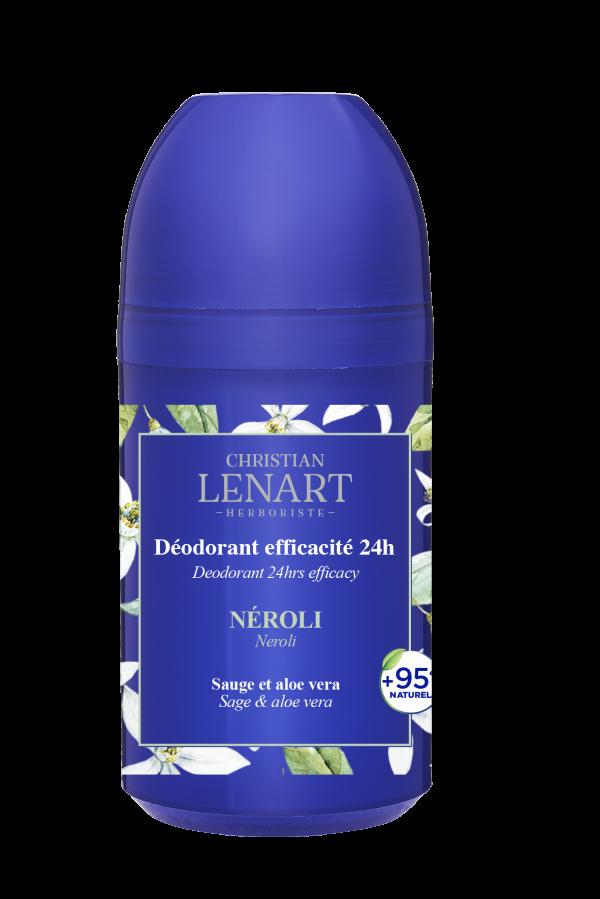 Déodorant efficacité 24h Néroli Christian Lénart