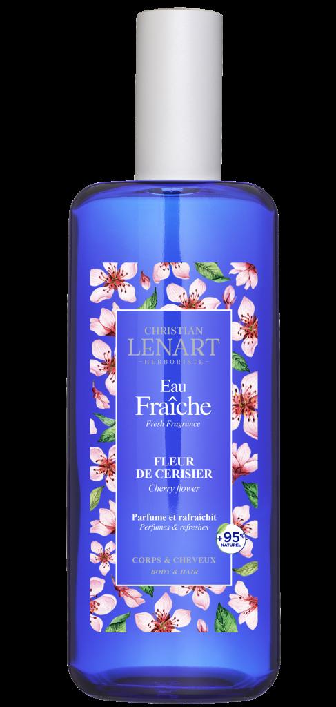 Bouteille Eau Fraîche Fleur de cerisier Christian Lénart