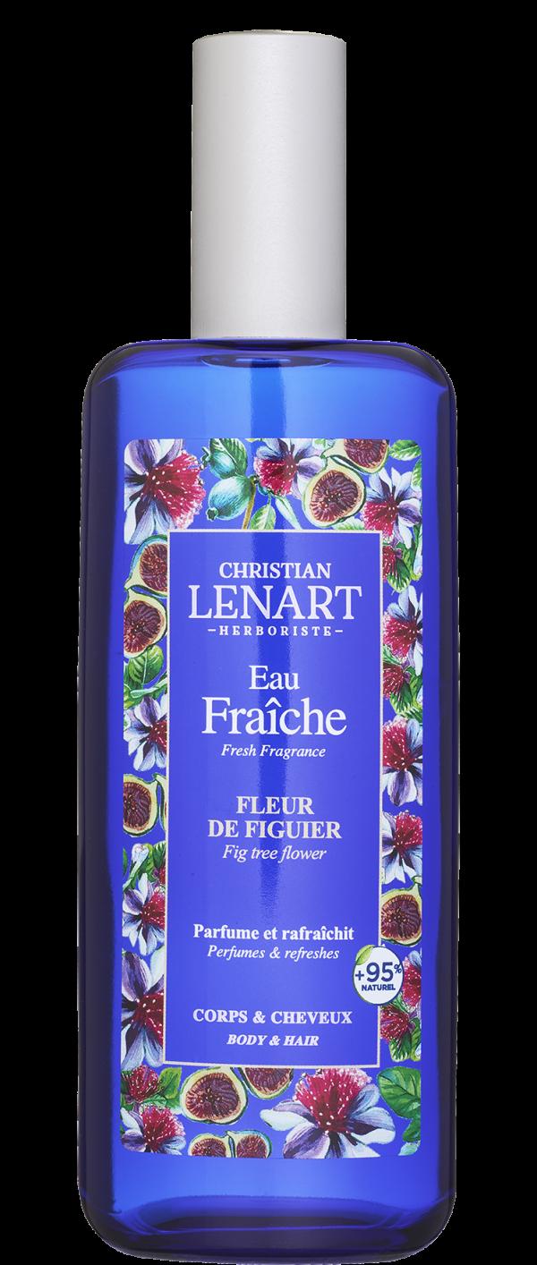 Bouteille Eau Fraîche Fleur de figuier Christian Lénart