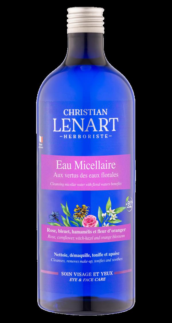 Bouteille Eau micellaire Christian Lénart