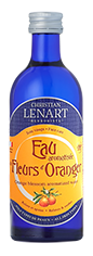 Bouteille Eau aromatisée de Fleurs d'Oranger Christian Lénart