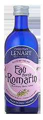 Bouteille Eau aromatisée de Romarin Christian Lénart