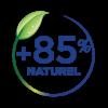 Pictogramme 85% de naturalité