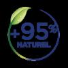 Pictogramme 95% de naturalité