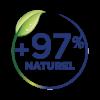 Pictogramme 97% de naturalité