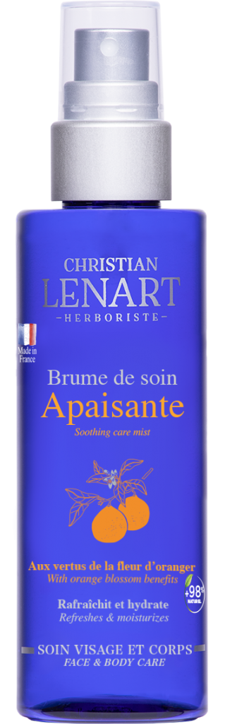 Bouteille Brume de soin Apaisante fleurs d'oranger Christian Lénart