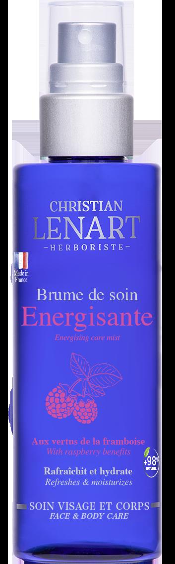 Bouteille Brume de soin Energisante framboise Christian Lénart