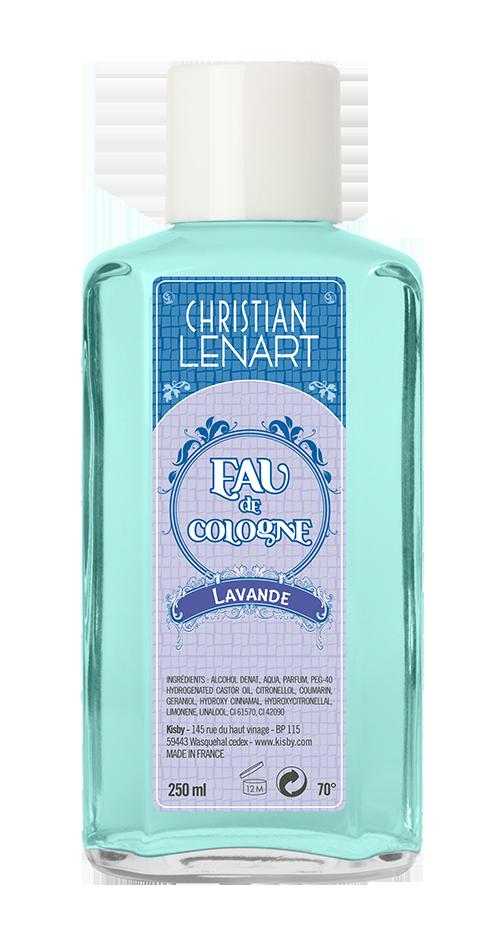 Bouteille Eau de Cologne Lavande Christian Lénart
