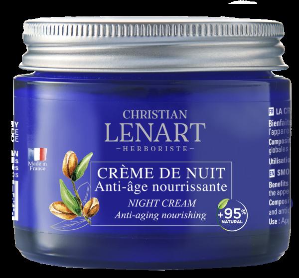 Pot Crème de nuit Anti-âge nourrissante Christian Lénart