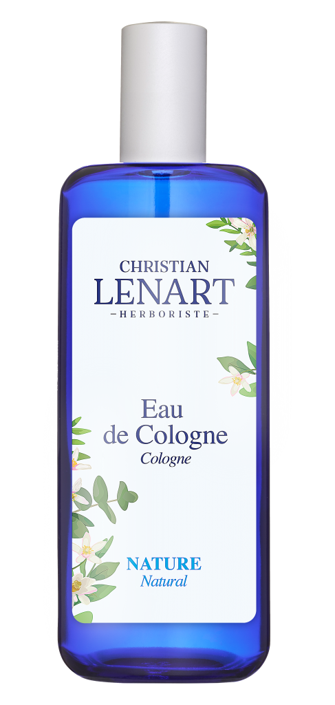 Bouteille Eau de Cologne Nature Christian Lénart
