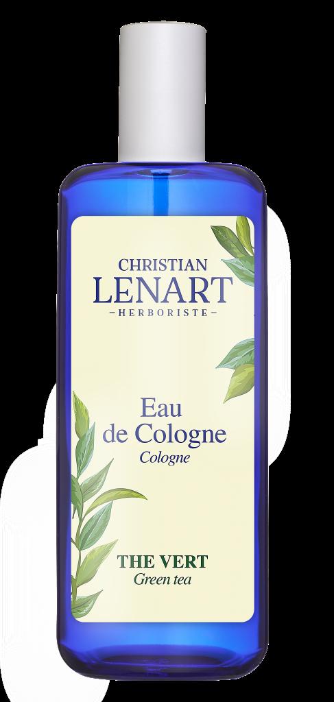 Bouteille Eau de Cologne Thé vert Christian Lénart