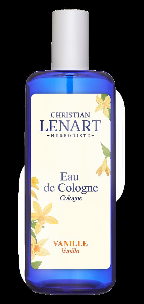 Bouteille Eau de Cologne Vanille Christian Lénart